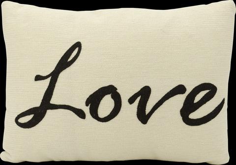 Nourison Industries, Inc. - Black Oblong Throw Pillow - 99446002594