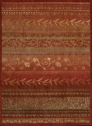 Nourison Industries, Inc. - Crimson Rectangle Rug - 99446016782