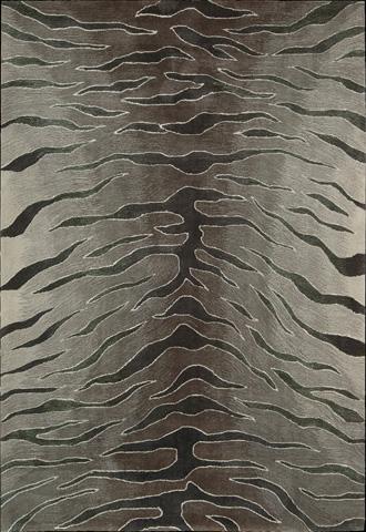 Nourison Industries, Inc. - Silver Rectangle Rug - 99446028013