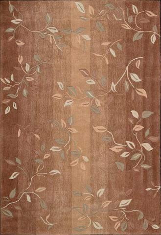 Nourison Industries, Inc. - Cinnamon Rectangle Rug - 99446046017