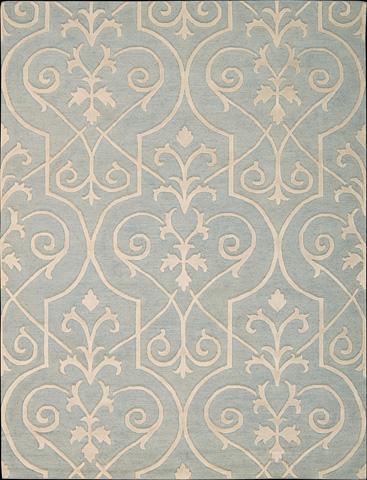 Nourison Industries, Inc. - Blue Rectangle Rug - 99446047427