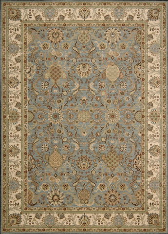 Nourison Industries, Inc. - Slate Blue Rectangle Rug - 99446052155