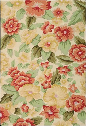 Nourison Industries, Inc. - Cream Rectangle Rug - 99446055880