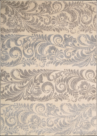 Nourison Industries, Inc. - Ivory Rectangle Rug - 99446091697