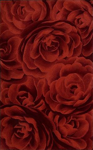 Nourison Industries, Inc. - Crimson Rectangle Rug - 99446108388