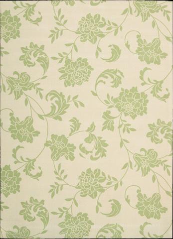 Nourison Industries, Inc. - Home and Garden Green Rectangular Rug - 99446112217