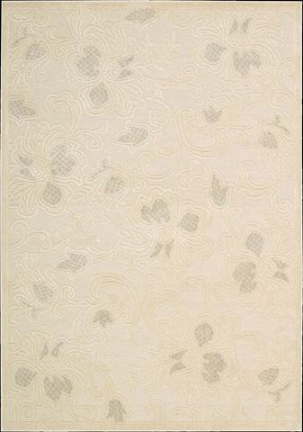 Nourison Industries, Inc. - Cream Rectangle Rug - 99446117786