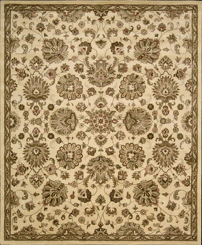 Nourison Industries, Inc. - Ivory Rectangle Rug - 99446128010