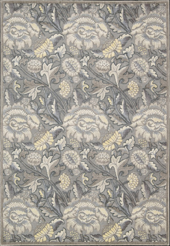 Nourison Industries, Inc. - Grey Rectangle Rug - 99446131652