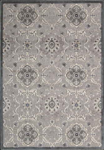 Nourison Industries, Inc. - Grey Rectangle Rug - 99446132222