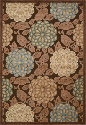 Nourison Industries, Inc. - Brown Rectangle Rug - 99446132857