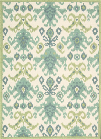 Nourison Industries, Inc. - Ivory Rectangle Rug - 99446137852