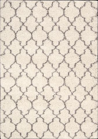 Nourison Industries, Inc. - Cream Rectangle Rug - 99446151292
