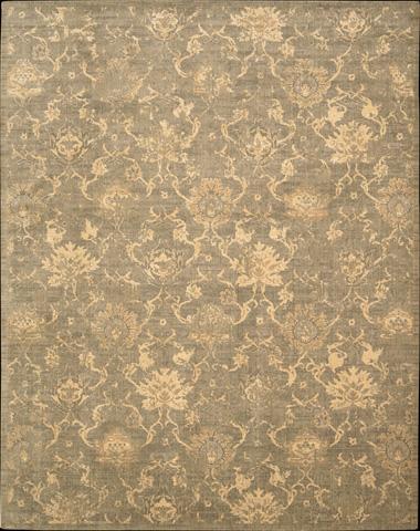 Nourison Industries, Inc. - Silken Allure Moss Rectangular Rug - 99446154187