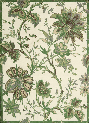 Nourison Industries, Inc. - Leaf Rectangle Rug - 99446174444