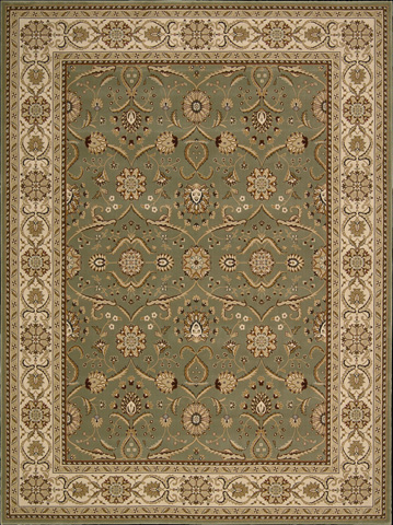 Nourison Industries, Inc. - Green Rectangle Rug - 99446178084