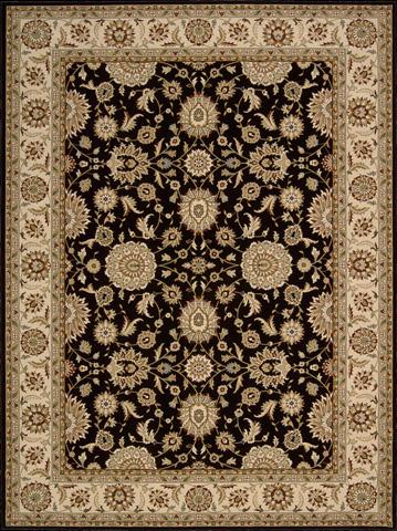 Nourison Industries, Inc. - Black Rectangle Rug - 99446178268