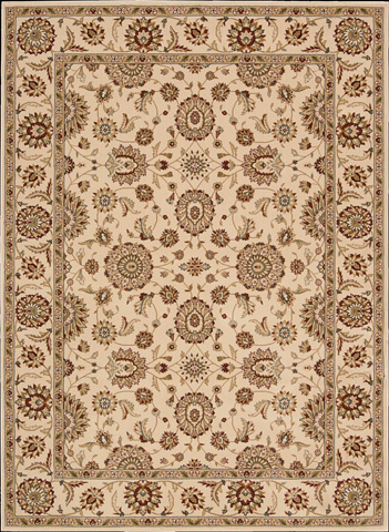 Nourison Industries, Inc. - Ivory Rectangle Rug - 99446178602
