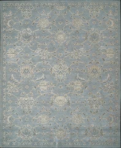 Nourison Industries, Inc. - Blue Rectangle Rug - 99446179722