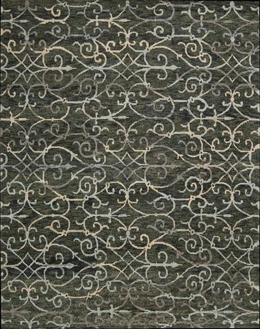 Nourison Industries, Inc. - Charcoal Rectangle Rug - 99446180858