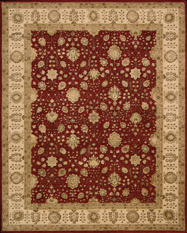 Nourison Industries, Inc. - Red Rectangle Rug - 99446191823