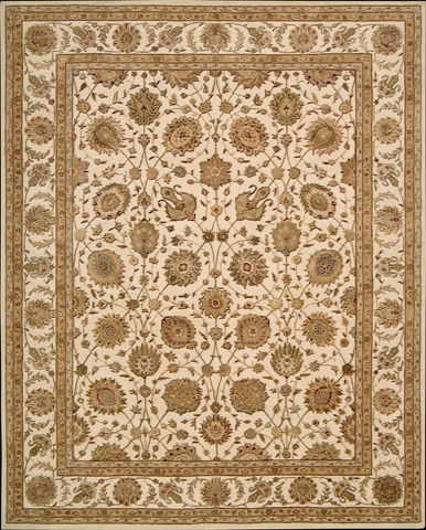 Nourison Industries, Inc. - Ivory Rectangle Rug - 99446192455