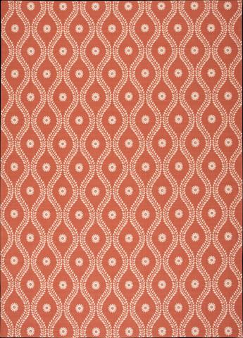 Nourison Industries, Inc. - Home and Garden Rust Rectangular Rug - 99446207494