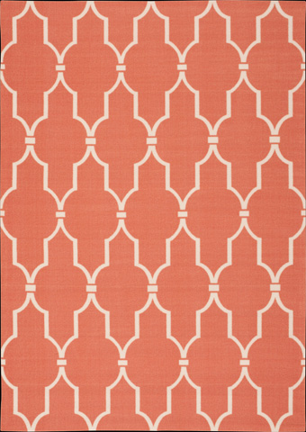 Nourison Industries, Inc. - Home and Graden Orange Rectangular Rug - 99446207616