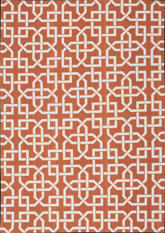Nourison Industries, Inc. - Home and Garden Rust Rectangular Rug - 99446207968