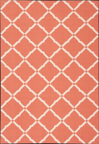 Nourison Industries, Inc. - Orange Rectangle Rug - 99446208125