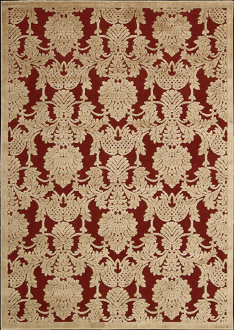 Nourison Industries, Inc. - Red Rectangle Rug - 99446221704