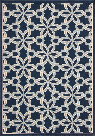 Nourison Industries, Inc. - Navy Rectangle Rug - 99446239662