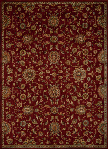 Nourison Industries, Inc. - Red Rectangle Rug - 99446241801