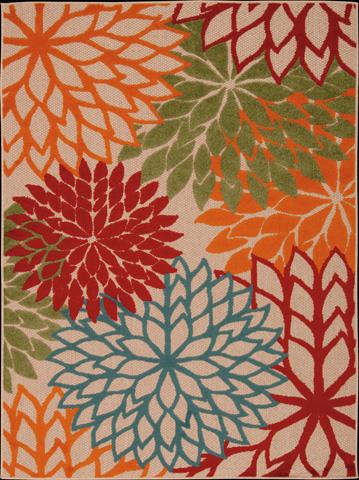 Nourison Industries, Inc. - Green Rectangle Rug - 99446242679
