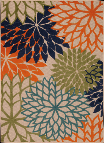 Nourison Industries, Inc. - Multicolor Rectangle Rug - 99446242716