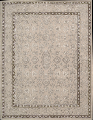Nourison Industries, Inc. - Taupe Rectangle Rug - 99446251541
