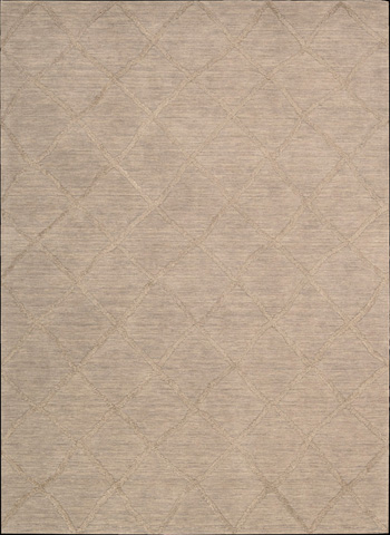 Nourison Industries, Inc. - Lunette Sand Rectangular Rug - 99446263452