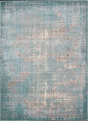 Nourison Industries, Inc. - Blue Rectangle Rug - 99446268938