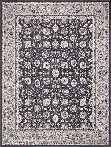 Nourison Industries, Inc. - Charcoal Rectangle Rug - 99446281593
