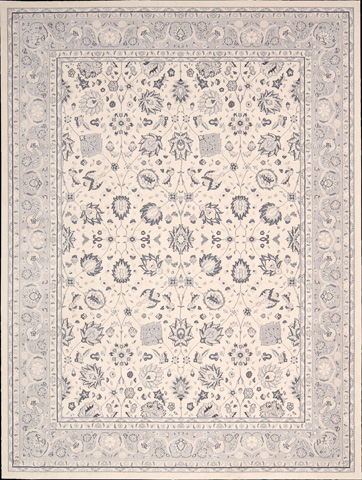 Nourison Industries, Inc. - Ivory Rectangle Rug - 99446281654