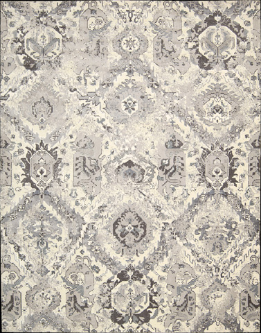 Image of Twilight Ivory Rectangular Rug