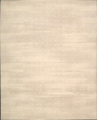Nourison Industries, Inc. - Bone Rectangle Rug - 99446295392