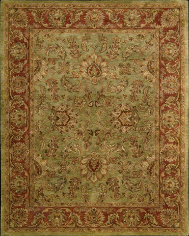 Nourison Industries, Inc. - Olive Rectangle Rug - 99446300591