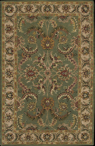 Nourison Industries, Inc. - Green Rectangle Rug - 99446304896