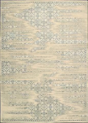 Nourison Industries, Inc. - Bone Rectangle Rug - 99446307910