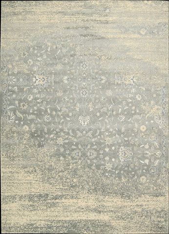 Nourison Industries, Inc. - Silver Rectangle Rug - 99446307996