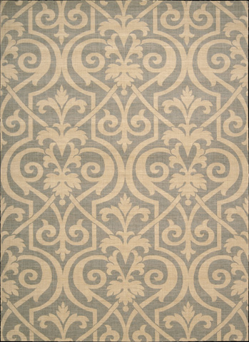 Nourison Industries, Inc. - Slate Rectangle Rug - 99446417633