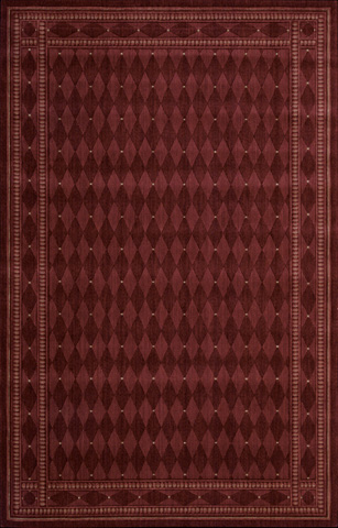 Nourison Industries, Inc. - Burgundy Rectangle Rug - 99446584885