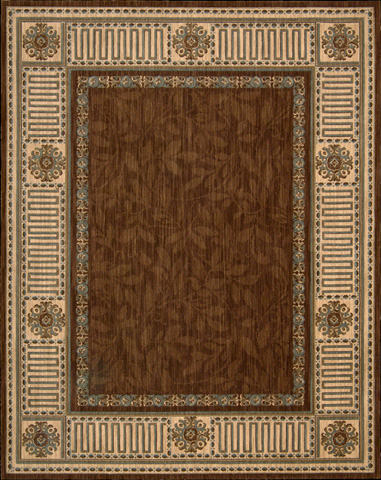 Nourison Industries, Inc. - Brown Rectangle Rug - 99446618177