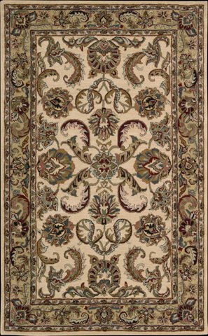 Nourison Industries, Inc. - Ivory/Gold Rectangle Rug - 99446650054
